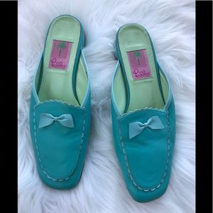Lilly Pulitzer Slip On Loafers Shoes  7.5